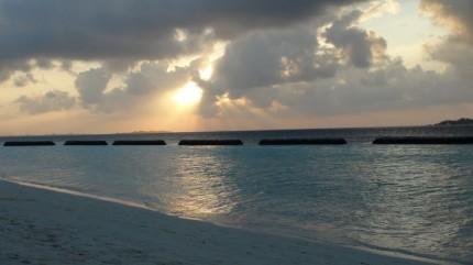 Maledivy2012 zapad slunce