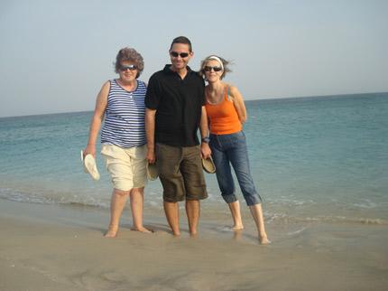 Teta Gabika, Ivan a mamka