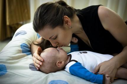 Maminka a syn