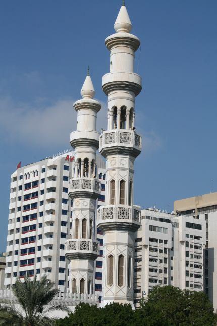 Mešita v centru Abu Dhabi