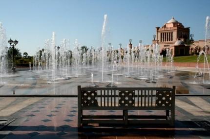 Emirates Palace - vodotrysky