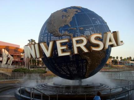 Vstup do Universal studios