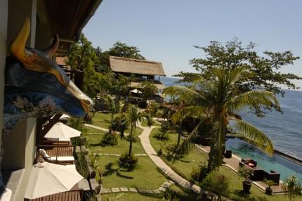 Tulamben - potápěčský resort