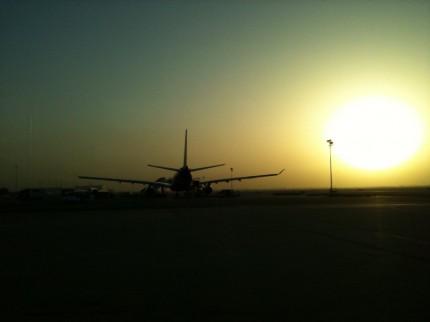 Omán - odlet
