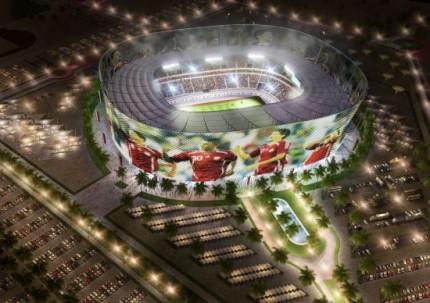 Al Rayyan Stadium rebuild World Cup 2022
